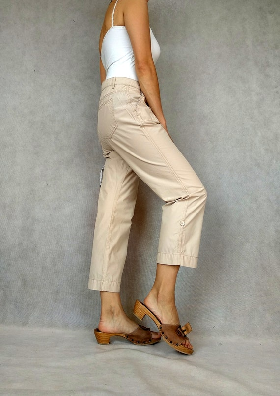Vintage Cargo Pants, Betty Barclay Pants, Retro C… - image 8