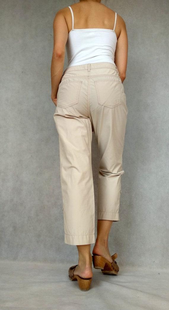 Vintage Cargo Pants, Betty Barclay Pants, Retro C… - image 7