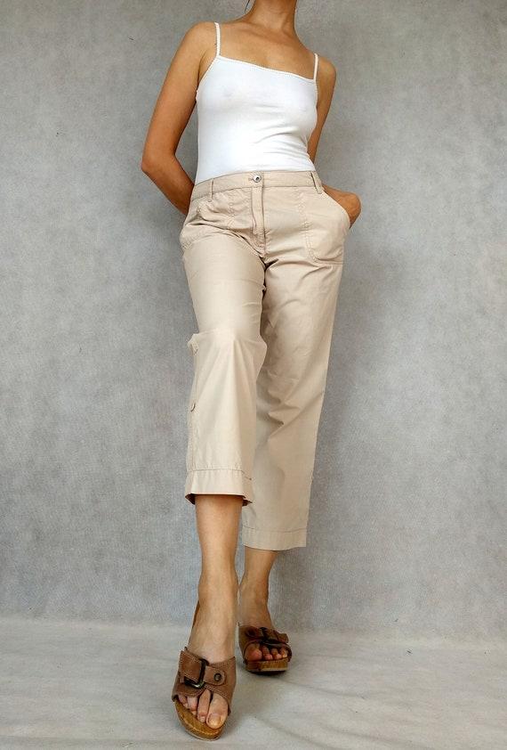 Vintage Cargo Pants, Betty Barclay Pants, Retro C… - image 4