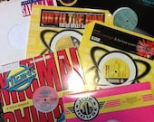 Lot of 100 Dance House Music 12 quot Singles Sleeved Records VG to NM Shape