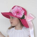 Girls Easter bonnet, Toddler Easter bonnet, Tea Party Hat