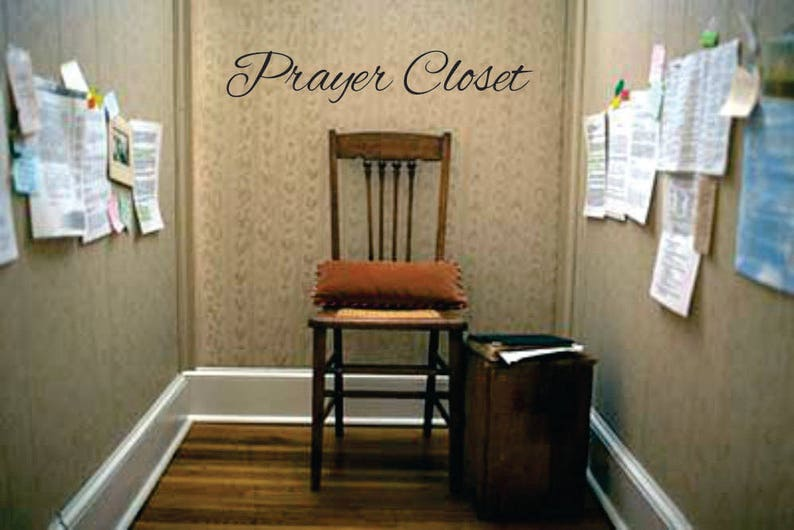 Image result for prayer closet
