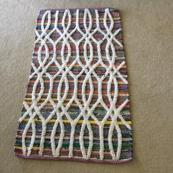 Rag Rugs For Sale Australia: Rag Rug / Chindi Floor J / Scandinavian Area Rug Boho Chic