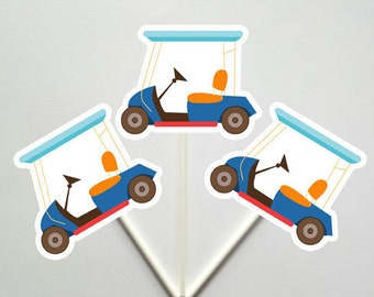 Golf cupcake toppers | Etsy on construction golf carts, party golf carts, 4th of july decorated golf carts, designing golf carts, maintenance golf carts, home golf carts, camping golf carts, halloween decorated golf carts, family golf carts, security golf carts, winter golf carts, catering golf carts, alabama football golf carts, wrapping golf carts, diy golf carts, christmas decorated golf carts, seasonal golf carts, fun golf carts, food golf carts, landscaping golf carts,