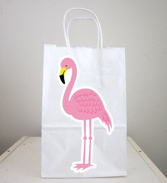 Flamingo Goody Bags Flamingo Favor Bags Flamingo Gift Bags  934ec5ea4