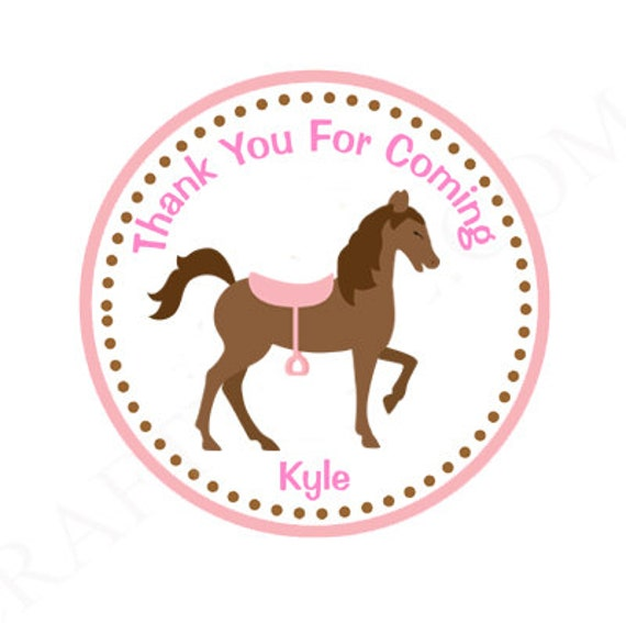 Horse Favor Tags
