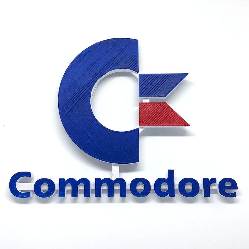 COMMODORE Video Game Shelf Display - High Quality Custom Made - Classic