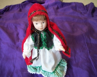 Darling Little RED RIDING HOOD Doll