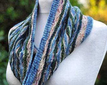Panorama Cowl knitting pattern, Scarf knitting pattern, knitting patterns for women, Summer scarf pattern, knitting, pdf, instant download