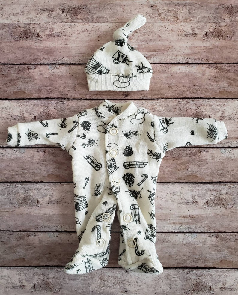 923909f63 5 custom clothing set sleeper or overall outfit clothes   Etsy