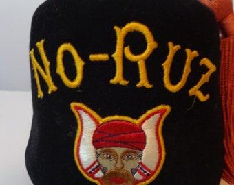 Vintage NO-RUZ black fez hats d96ac120dfe2