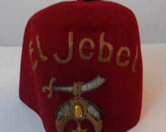 EL JEBEL Fez Hat 9906ccc0fa36