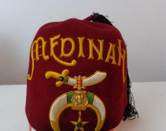Vintage Medinah Fez Hat d1b9b477e917
