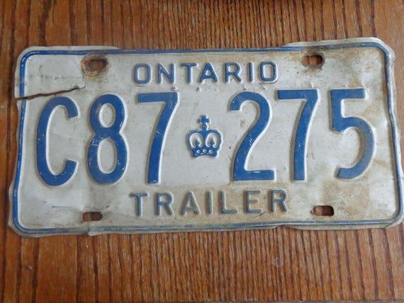Vintage Ontario License Plate Vintage Plate Vintage Plate Beat Vintage Ontario License Plate Vintage Plate Auto Plate Vintage Plate