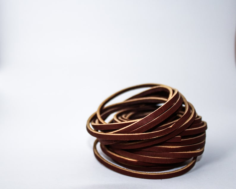 Additional Leather Cording for Himmeli  6in 15.24cm image 0