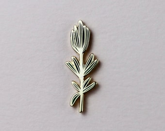 Rosemary Hard Enamel Cloisonné Pin
