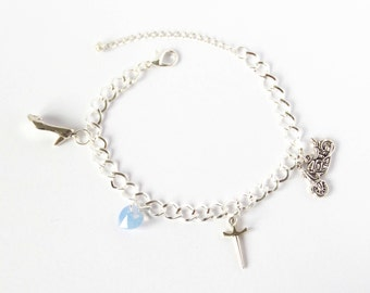 Henry and Cinderella Once Upon A Time Character Bracelet