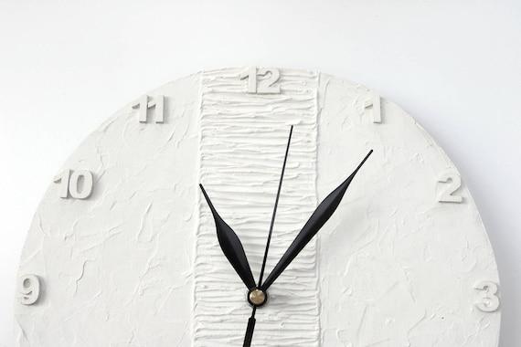 Horloge murale blanche horloge moderne mur blanc horloge bureau