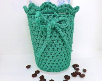 Travel Mug Cosy, Cup Sleeve, Coffee Shop, Mug Wrap, Gift for Coffee Lover, Commuter Present, Cup Cosy, Tea Lover, Cup Warmer, Mug Hug,