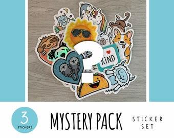 Mystery Pack Sticker Set / Vinyl Stickers / Laptop Stickers / Water Bottle Stickers / Vinyl Decals / Journal Stickers