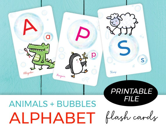 photograph relating to Alphabet Printable Flash Cards identify Printable Flash Playing cards / Flash playing cards for Children / ABC FlashCards / Alphabet / Printable Alphabet / Printable immediate down load