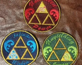 Zelda Triforce Patches