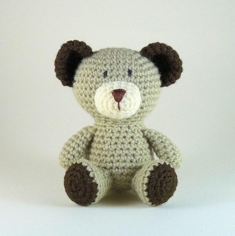 Uncinetto Amigurumi Orso Orsetto Teddy Bear Baby Bear Orso Etsy