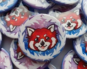 Red panda badge