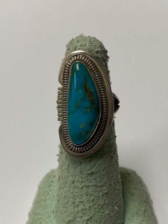 Turquoise Ring Sterling Silver Ring