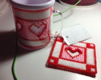 Valentine Mug and Coaster Set