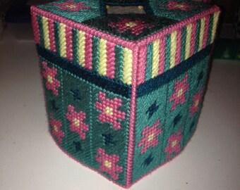 Flower Garden Tissue Cover