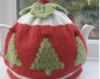 Pattern: Merry Christmas Tea Cosy