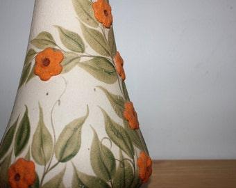 Vintage Handmade Floral vase item M218