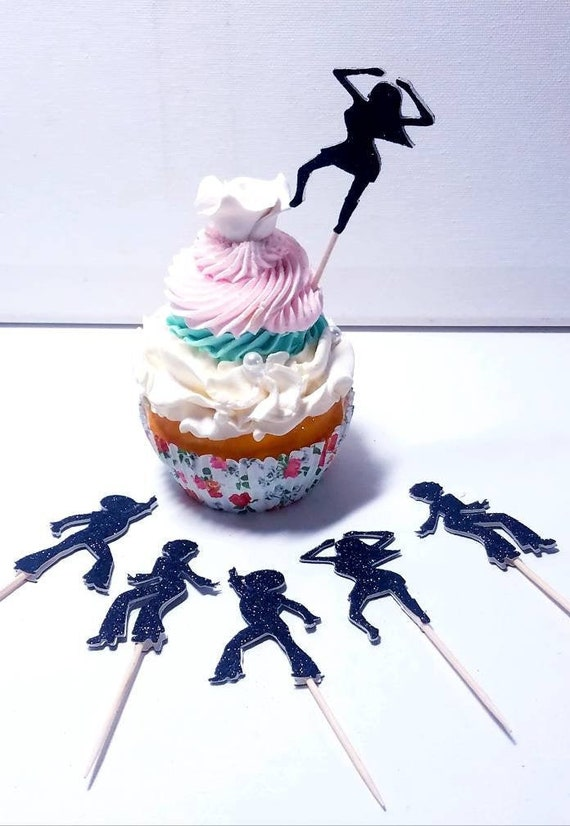 Helicopter chopper cupcake toppers for graduation military baby shower birthday party favor wedding cake table decoration Choose color