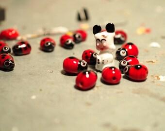 """Ornament in Murano Glass """"Hallo spank Story"""""""