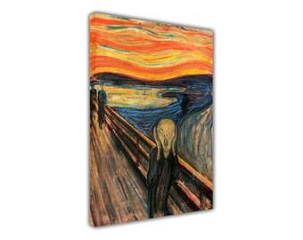 Berühmte Gemälde von Edvard Munch der Schrei-Nachdruck gerahmt