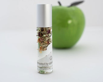 Tempted by Apple *NEW Earth Note perfume ~pure, natural oil perfume, essential oils, alcohol free, cruelty free, apple blossoms suspension