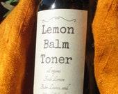 Lemon Balm Toner Lemon Balm Skin Care, Moisturizing Spray, Anti-Inflammatory, Eczema, Psoriasis, Acne, Bug Bites, Rashes, After Shave