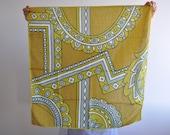 Silk foulard years 39 70