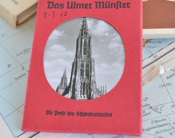 Souvenir of photographs of the Cathedral of Ulm years ' 60-Germany