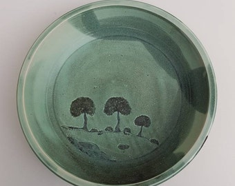 Daintree TNQ studio pottery large dish Australia tropical north queensland rainforest
