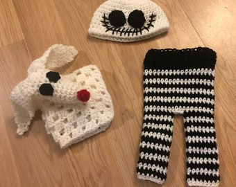 d98fa7a2921 Jack Skellington - Hat - Infant Halloween Hat - Baby Halloween Hat - Babys  1st Halloween - Toddler Halloween Hat - Jack Skeleton - Nightmare