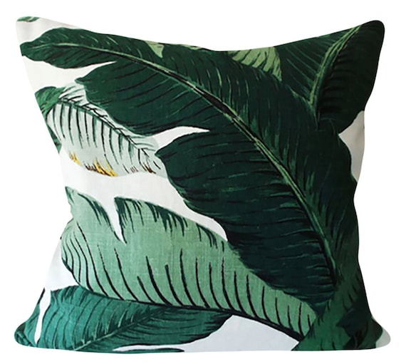 Tommy Bahama Palm Leaves Outdoor Decorative Pillow Cover Etsy Impressive Tommy Bahama Decorative Pillows