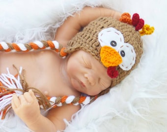 baby turkey hats, turkey hat, newborn turkey hat photography prop, turkey hats, thanksgiving turkey hat, thanksgiving hats,