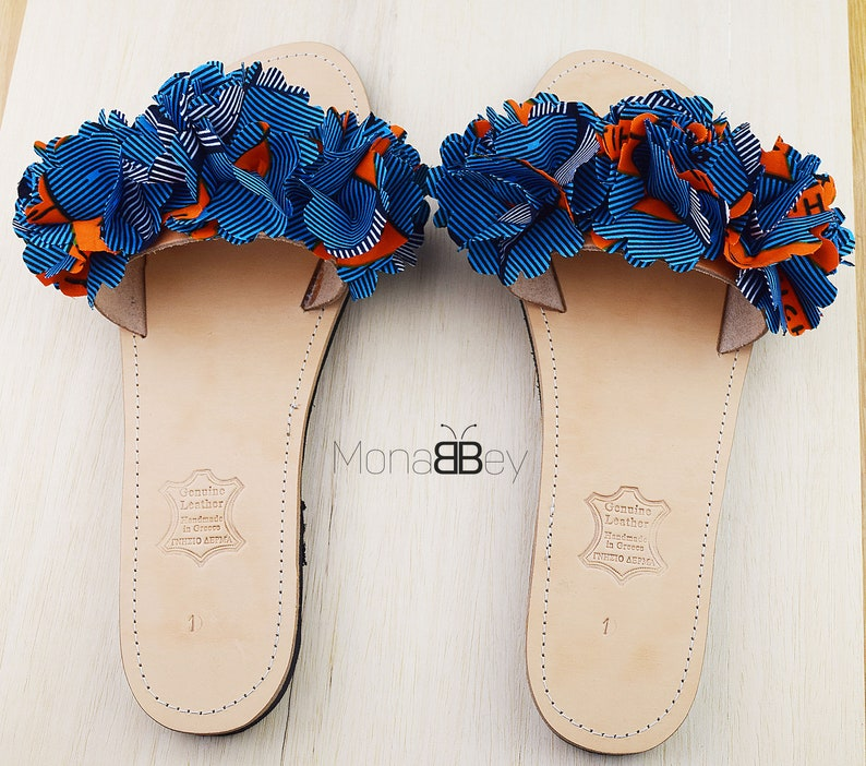 bccf5bcd4833e9 Handmade Flowers Fabric Sandals