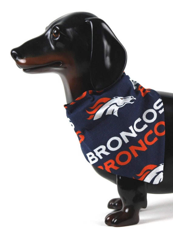 pretty nice ddd76 45e2b Football Dog Bandana, Sports Pet Bandana, Dog Collar Bandana, Denver Dog  Scarf, Broncos Cotton, Football Team Gifts, Pet Gift, Sports Gift