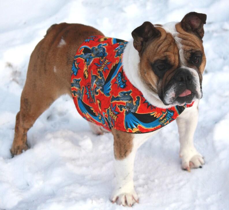 Manteau Pour Chien Super Héro Vêtements Pour Chiens Ringard Etsy