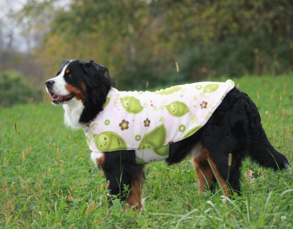 Fleece Dog Coat Winter Dog Clothes Clothing For Dogs Large Etsy