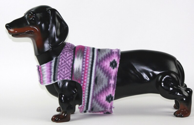 Dog Vest Medium Dog Clothing Dachshund Clothes Tribal Print Fleece Dog Coat Birthday Gifts For Dog Owners Small Dog Clothes Pet Gift