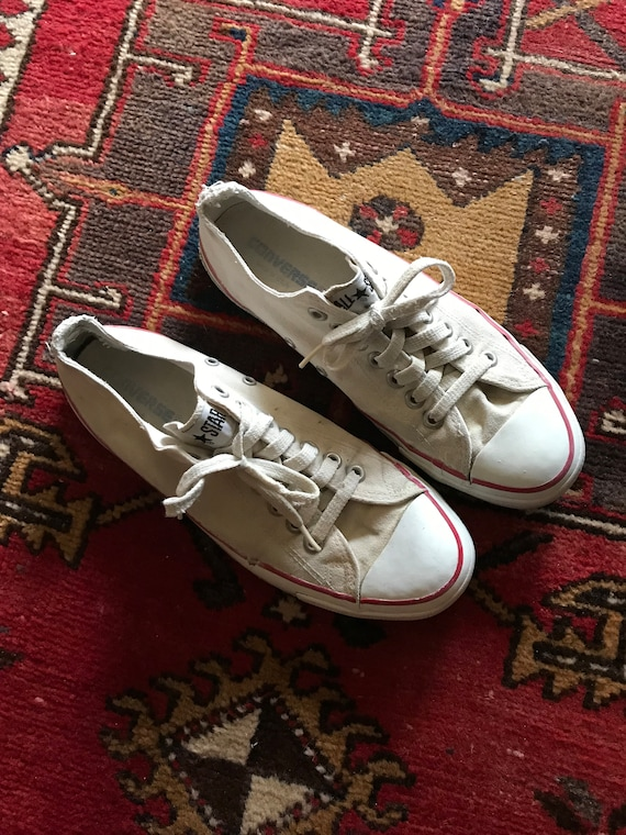 Vintage American Made Converse All Star Low Top Chuck Taylors